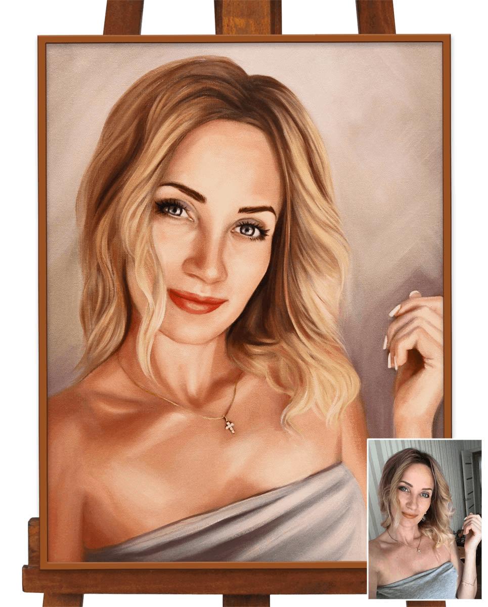 Нарисовать портрет по фотографии на заказ срочно