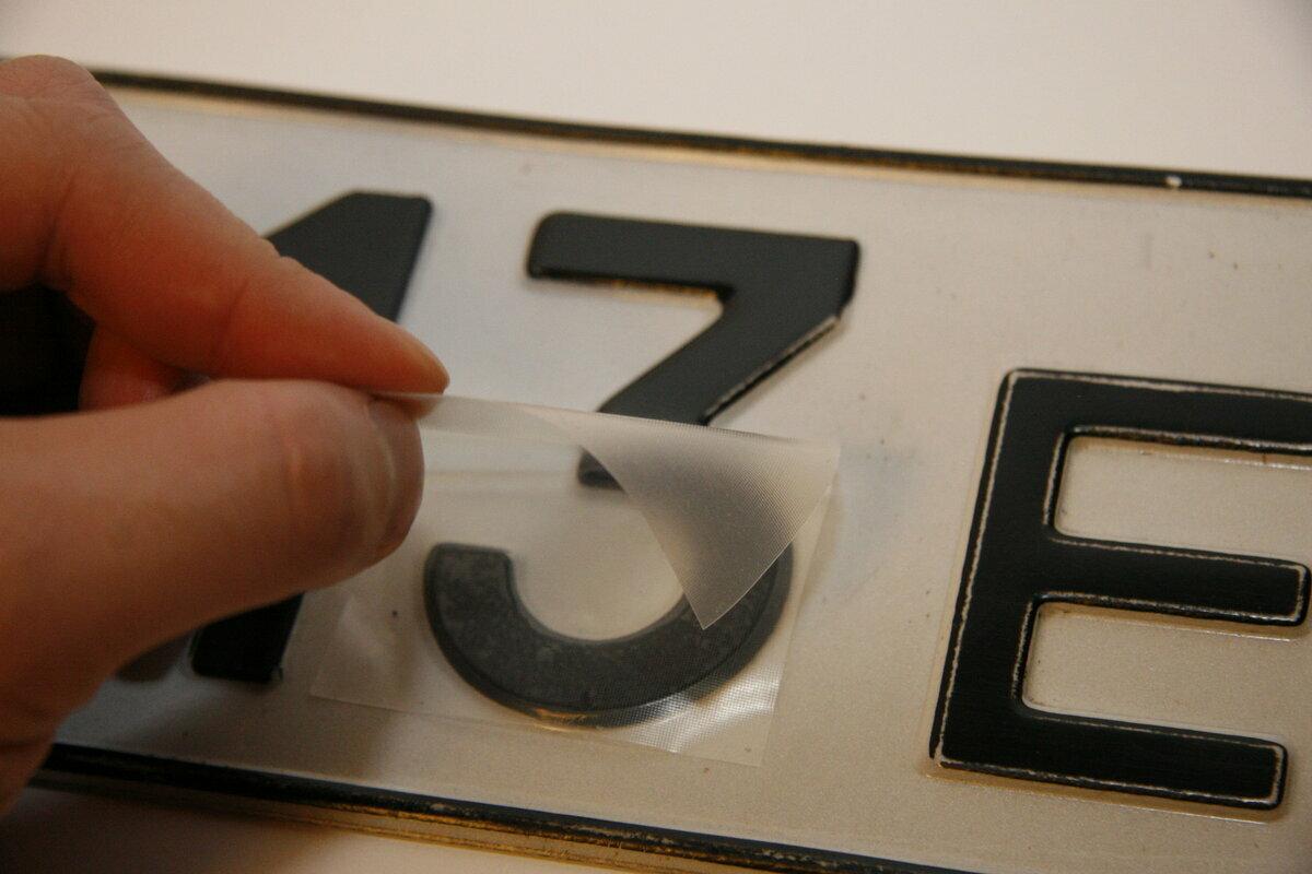 Нанопленка на номера в Приозёрске