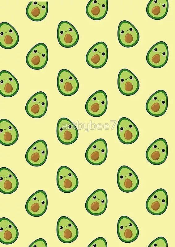 уже трудно кавайная картинка авокадо портфолио художника