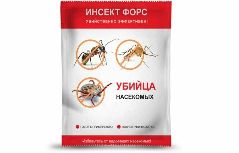 Инсект Форс от насекомых в Артёме