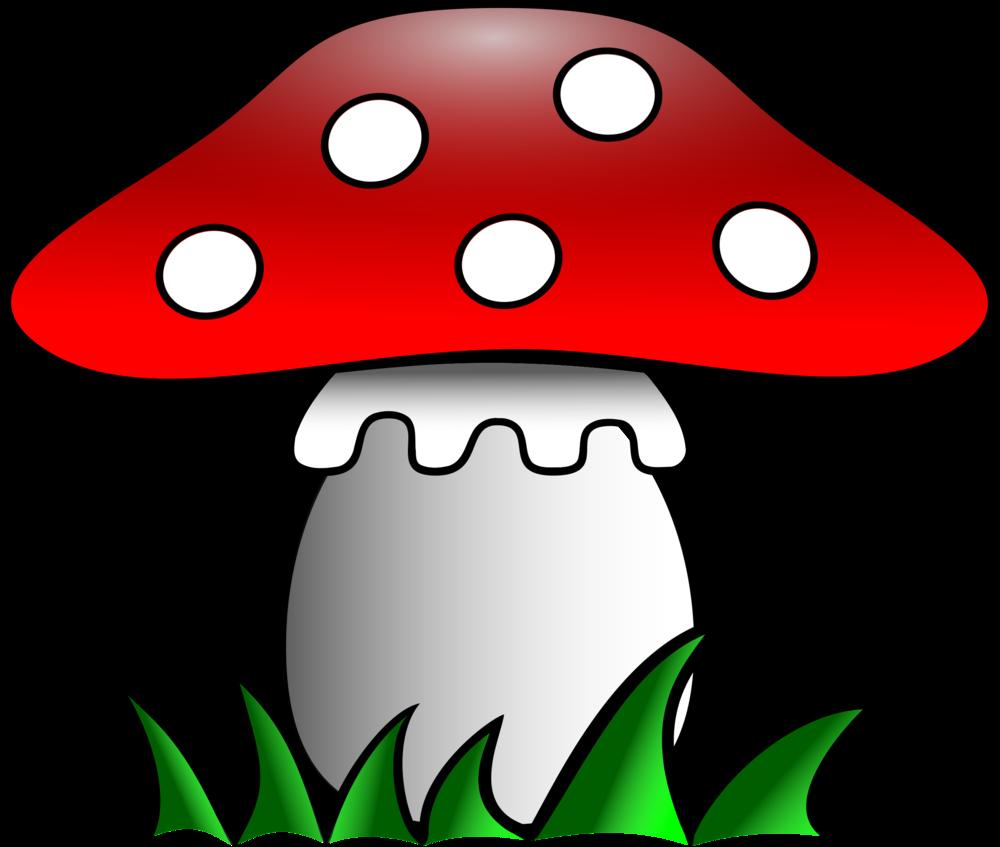 гриб картинки для вырезания цветные