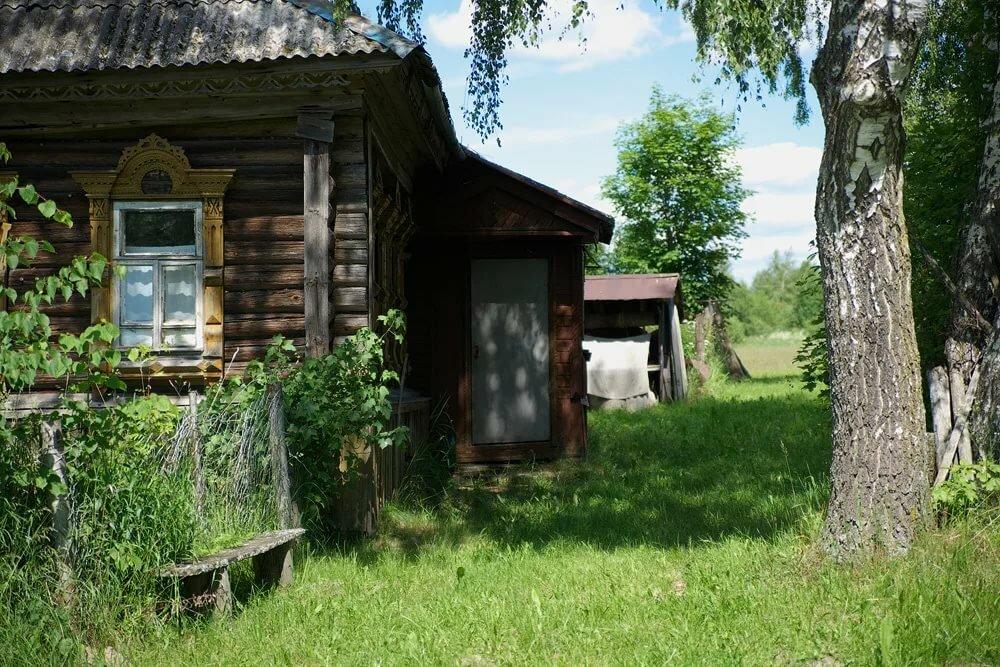 один картинки мой двор в деревне одном