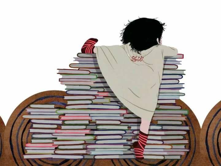 Картинки о чтении и книгах, летнего утра