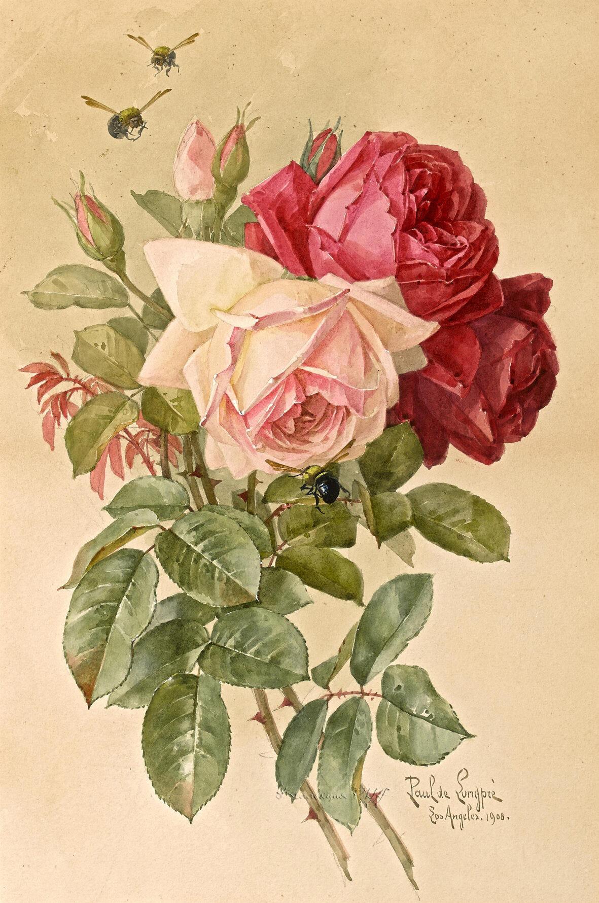 Приколы про, картинки ретро цветы