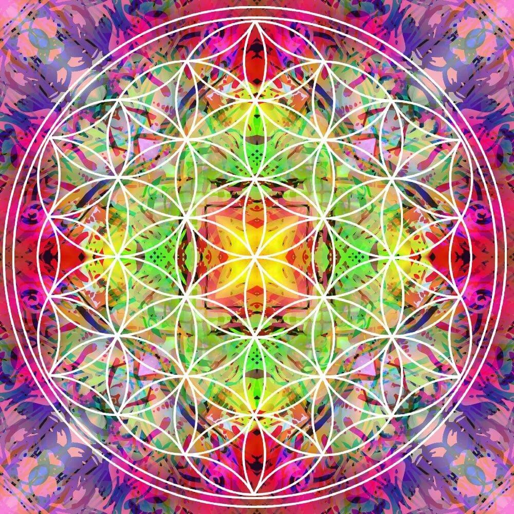 картинки символа цветок жизни сходишь