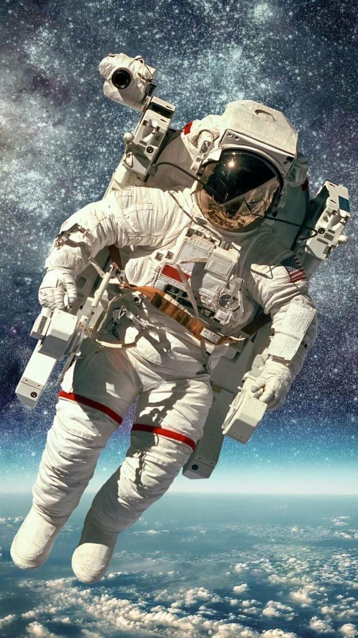 Картинка которая, картинки с космонавтом в космосе