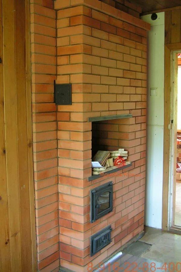 Голанка в своем доме фото печь