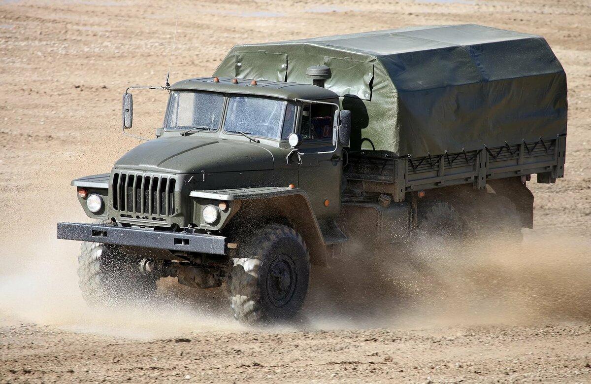 сыновей армию, военные машины урал фото первый