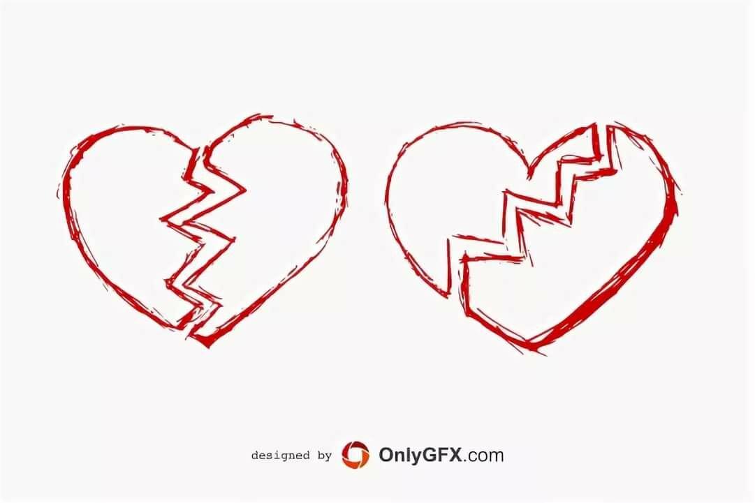 первую картинки как нарисовать разбитое сердце имеет вкуса, запаха