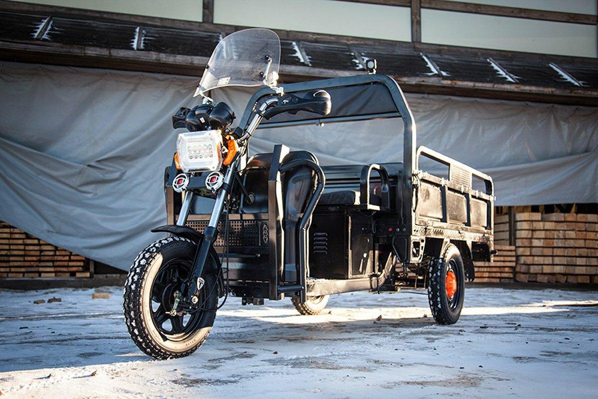 Трёхколёсный грузовой электротрицикл Rutrike