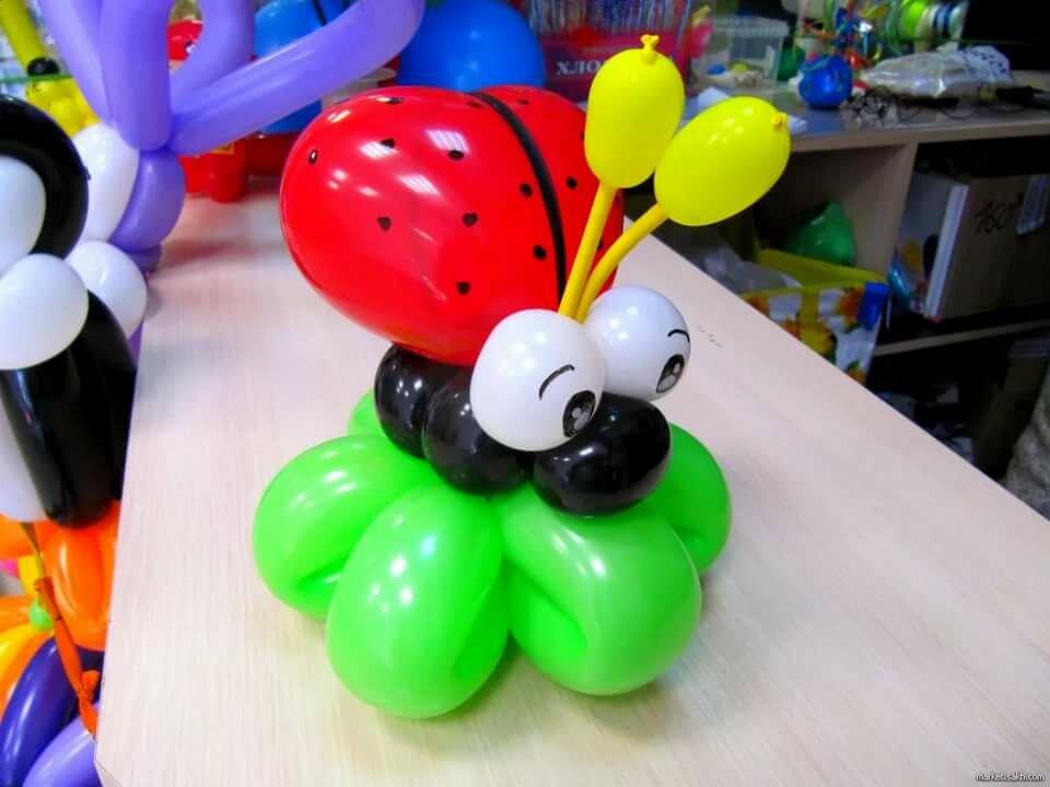 Композиции из воздушных шаров картинки