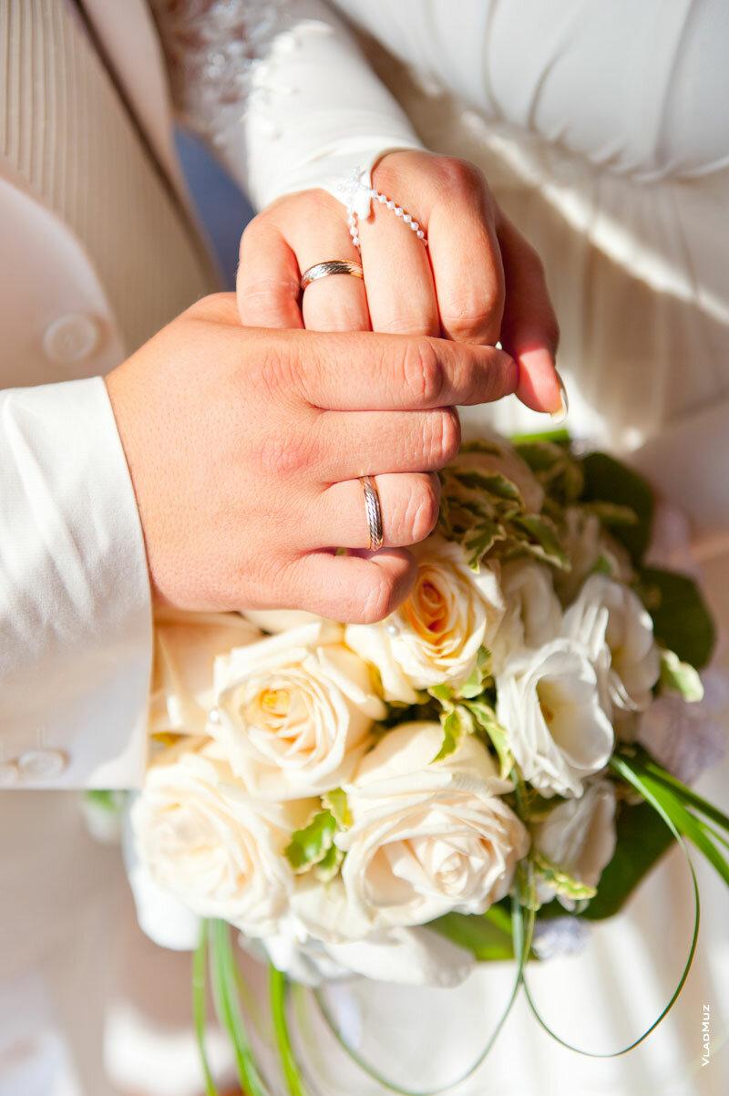 Букет невесты нельзя выпускать из рук, невеста