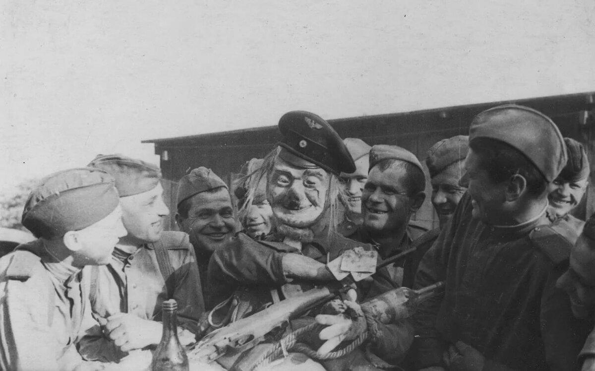 Смешные фото военных лет