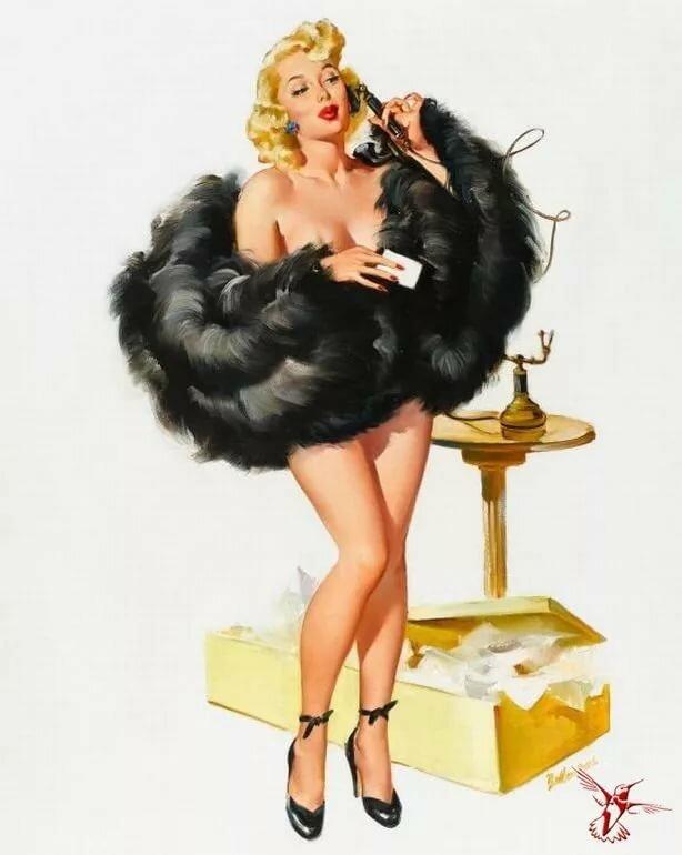 Рисунки женщин веселые, открытка люблю самые