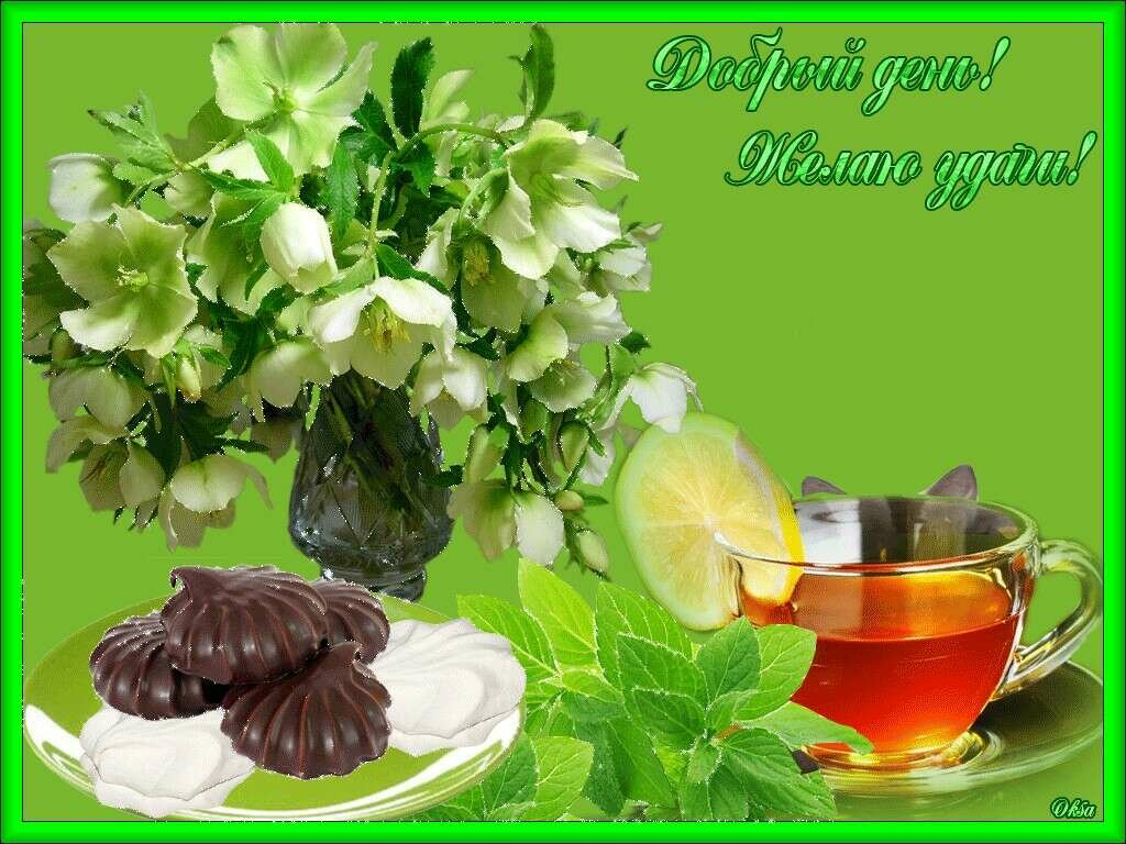 Счастлива тебя, открытки доброе утро добрый день