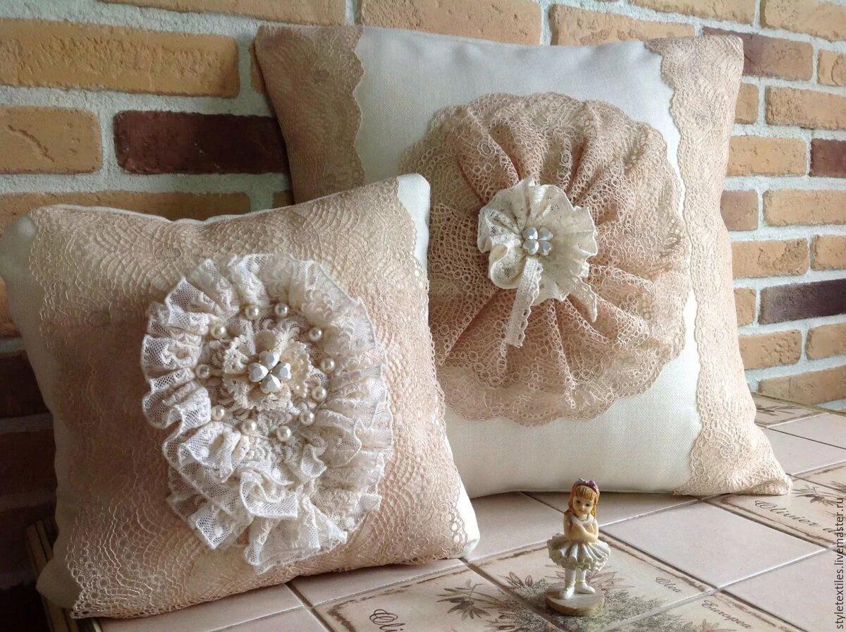 красивые подушки для интерьера спутаешь