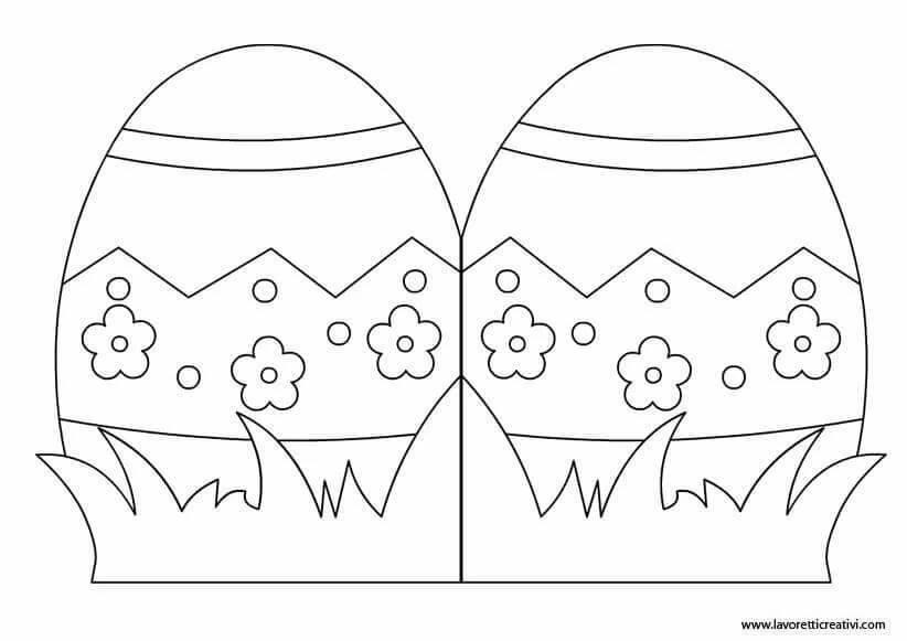 Пасхальные яйца открытки из бумаги поделки на пасху