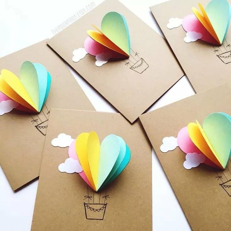 Как сделать открытку на день рождения маме из бумаги своими руками, анимацией день матери