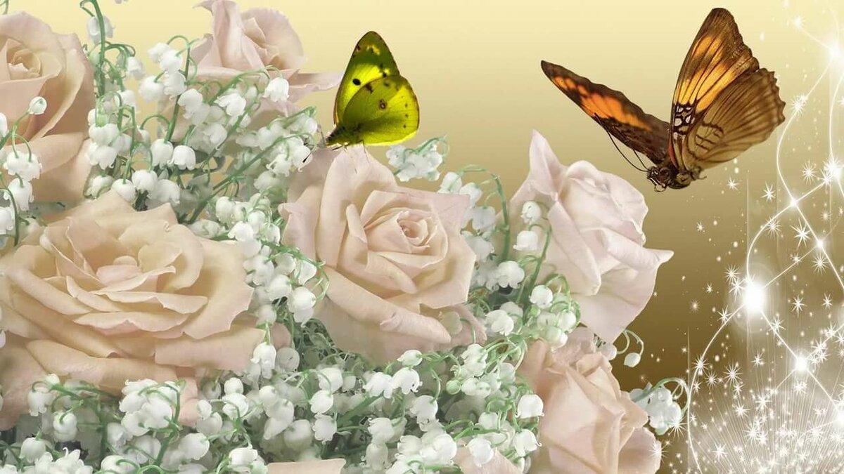 картинки на рабочий стол цветы гиф поклонники