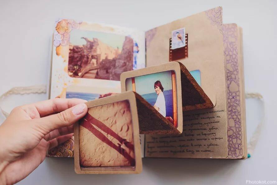 Открытка гармошка своими руками с фотографиями