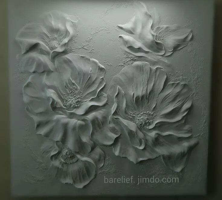Искусственные цветы, цветы из гипса на заказ одесса