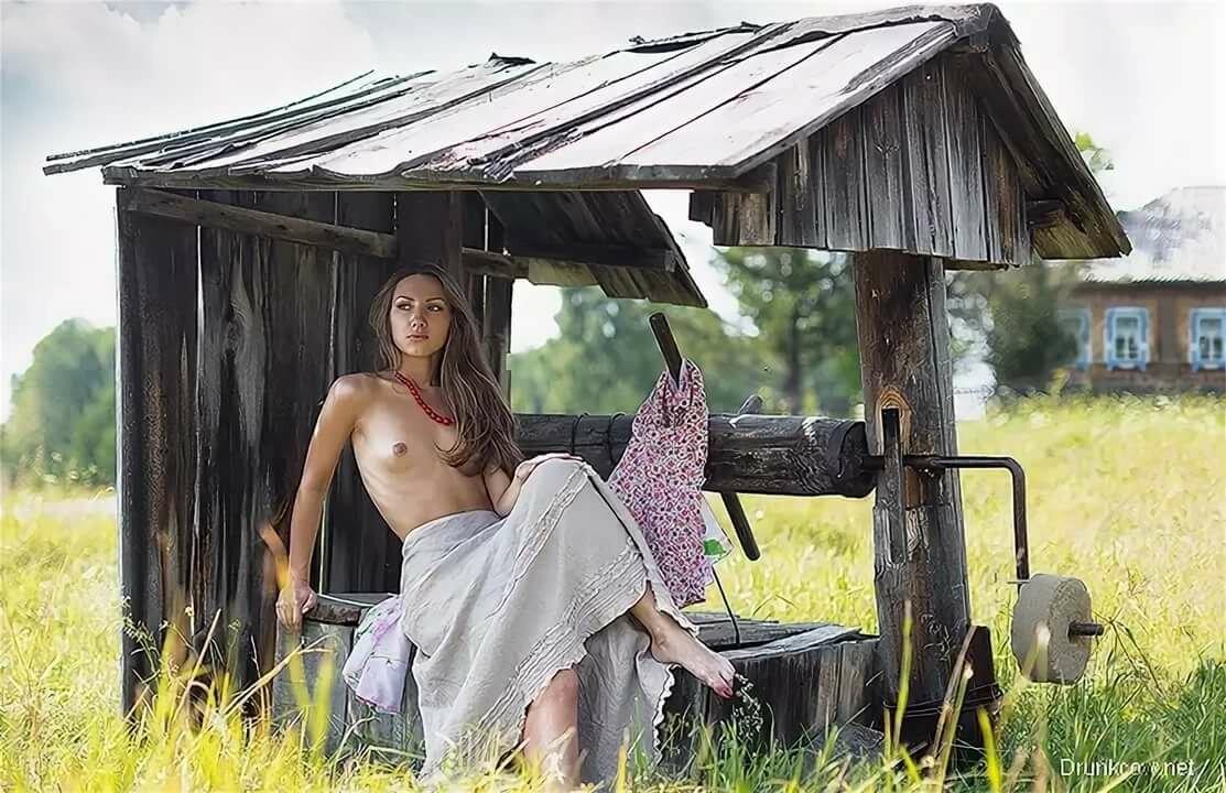 эротика летом в деревне