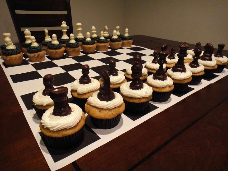 Прикольные, картинки с днем рождения шахматисту