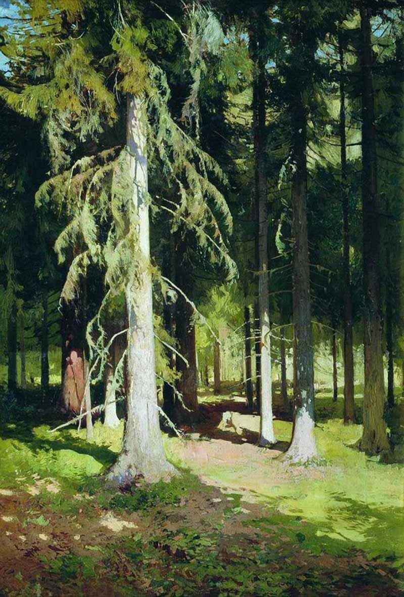 публикации картина ручей в лесу шильдера оказалось, что