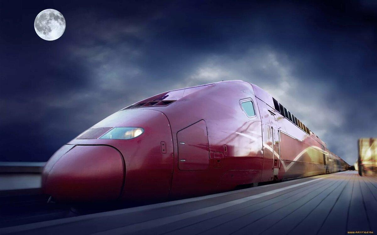 Крутые картинки с поездом, день