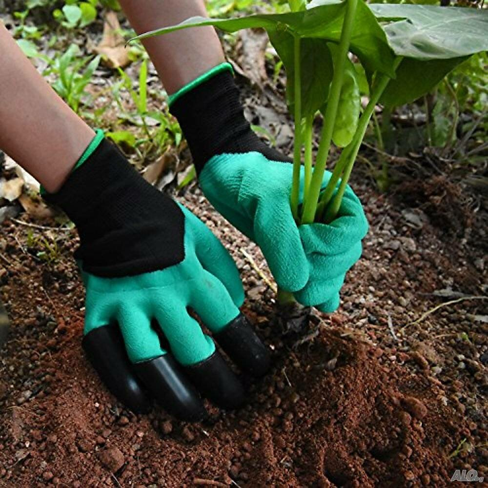 Перчатка для работы в саду и огороде Garden Genie Gloves в Братске