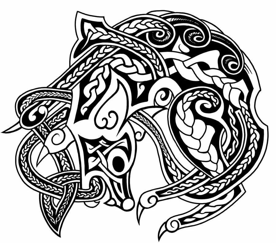 кельтский рисунок картинки жилой