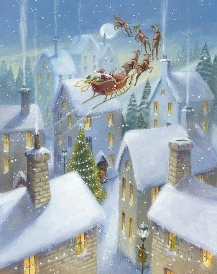 Открытки рождественское чудо, февраля картинки