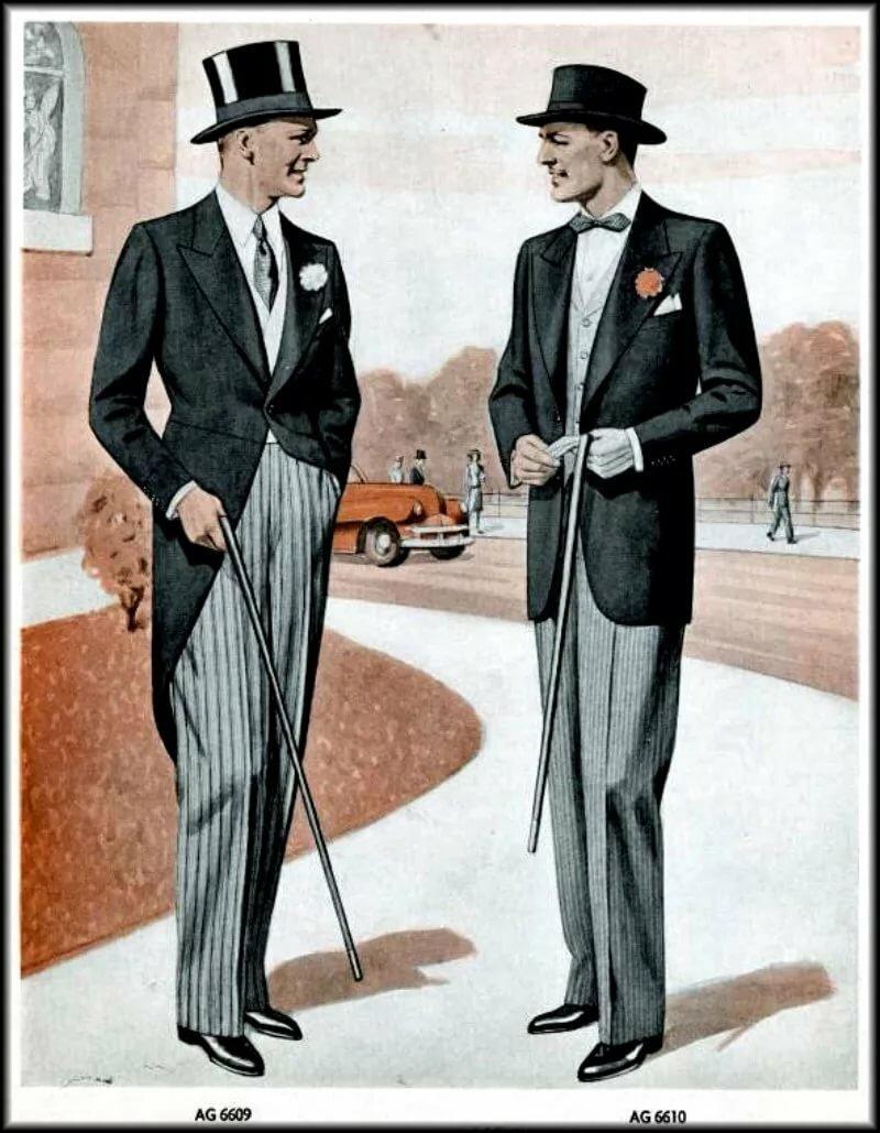 Открытки джентельменами, изображение