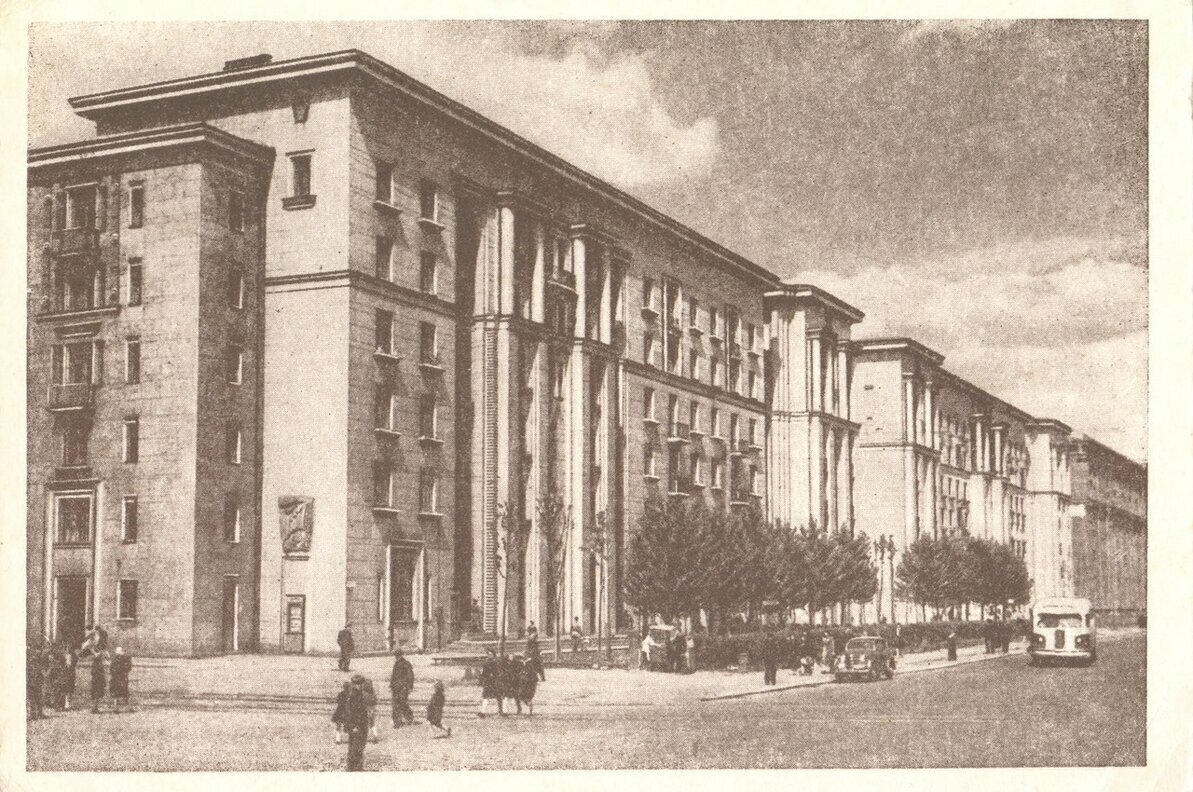 Ленинград. Проспект имени И. В. Сталина.