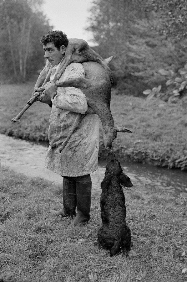 прикольные ретро фото охоты тяжелый камуфляж