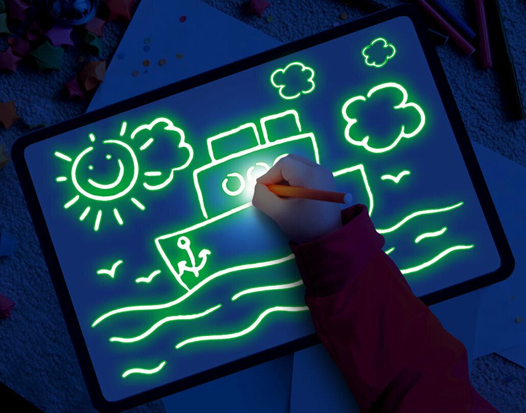 Детский набор для рисования в темноте - Рисуй светом в Сумах