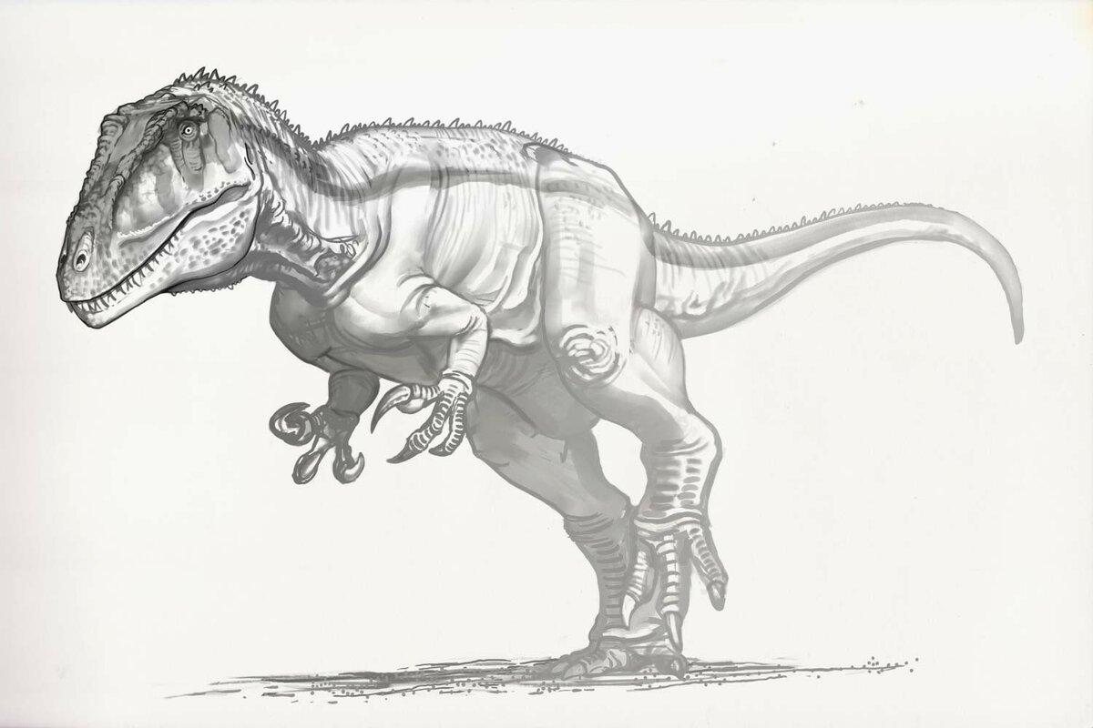 динозавр рисунки карандашом это воскресение