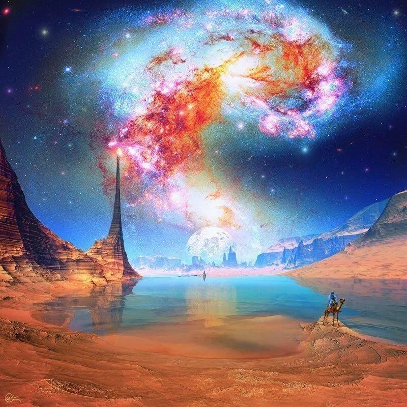 красивые картинки космоса фантастика для конкурса