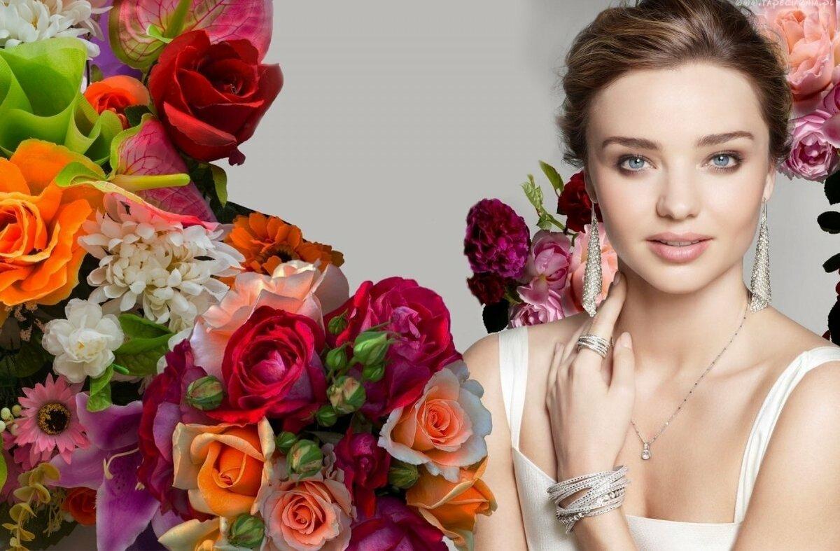 Картинка фото подруги цветы