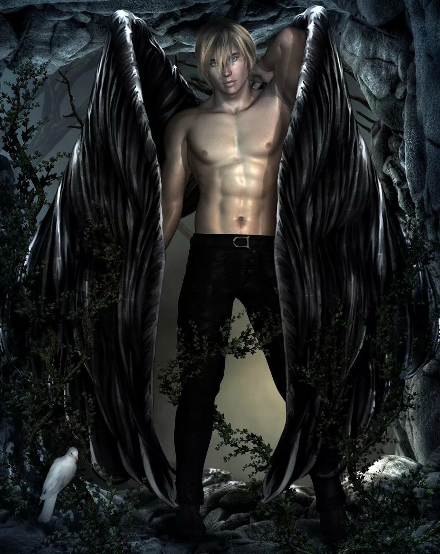 Картинки красивый демон мужчина