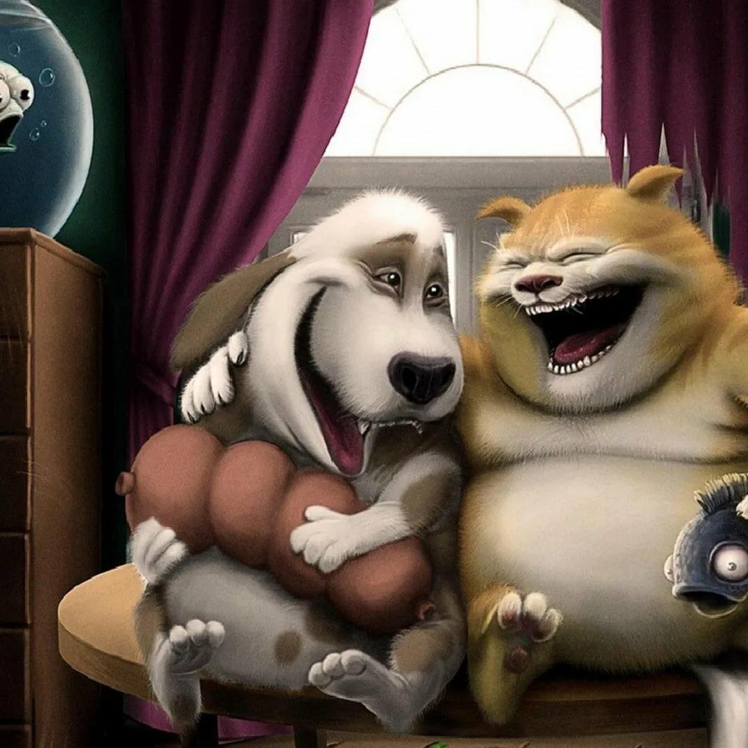 Коллажи, прикольные картинки для ватсапа про дружбу
