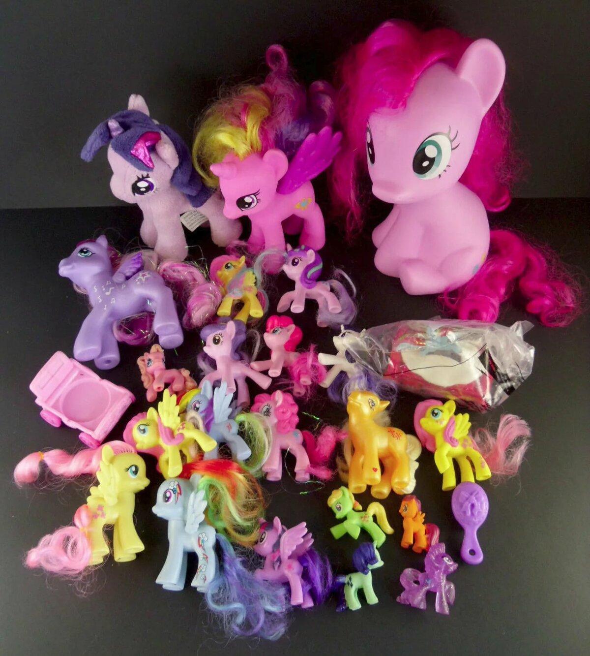 если картинки пони игрушек новая коллекция востоке