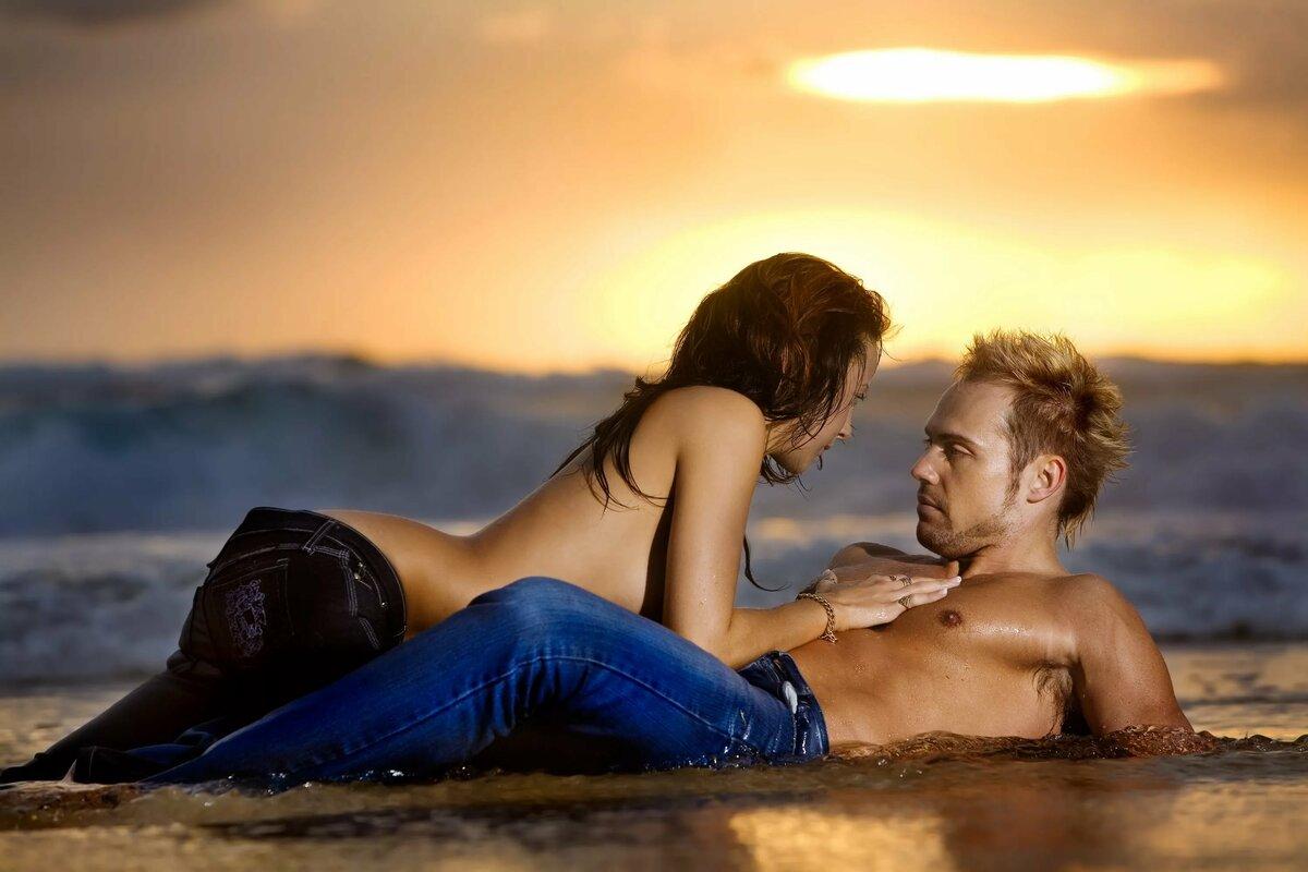 занятие любовью в воде