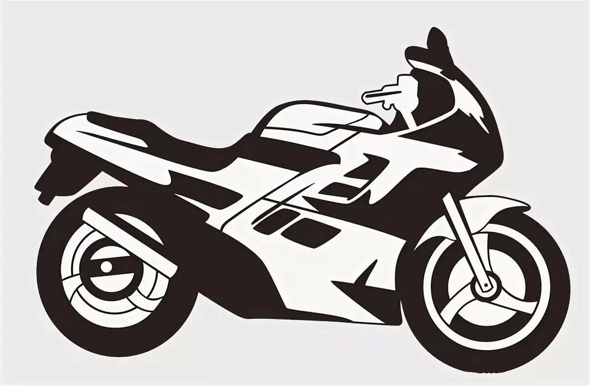 картинка мотоцикла для печати племени панапе