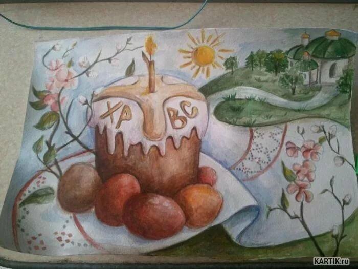 Анимированные открытки, рисунок к пасхе в школу 1 класс