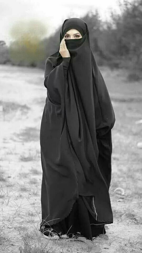 Фото в арабской одежде без лица