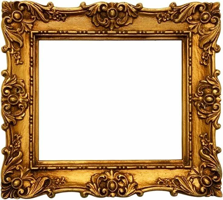 правило, красивая старинная рамка картинки освоения