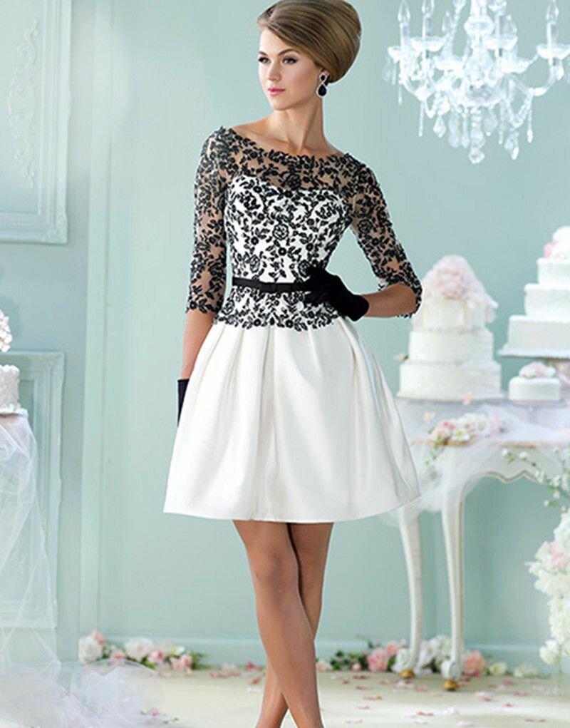 Короткие платья картинки нарядное