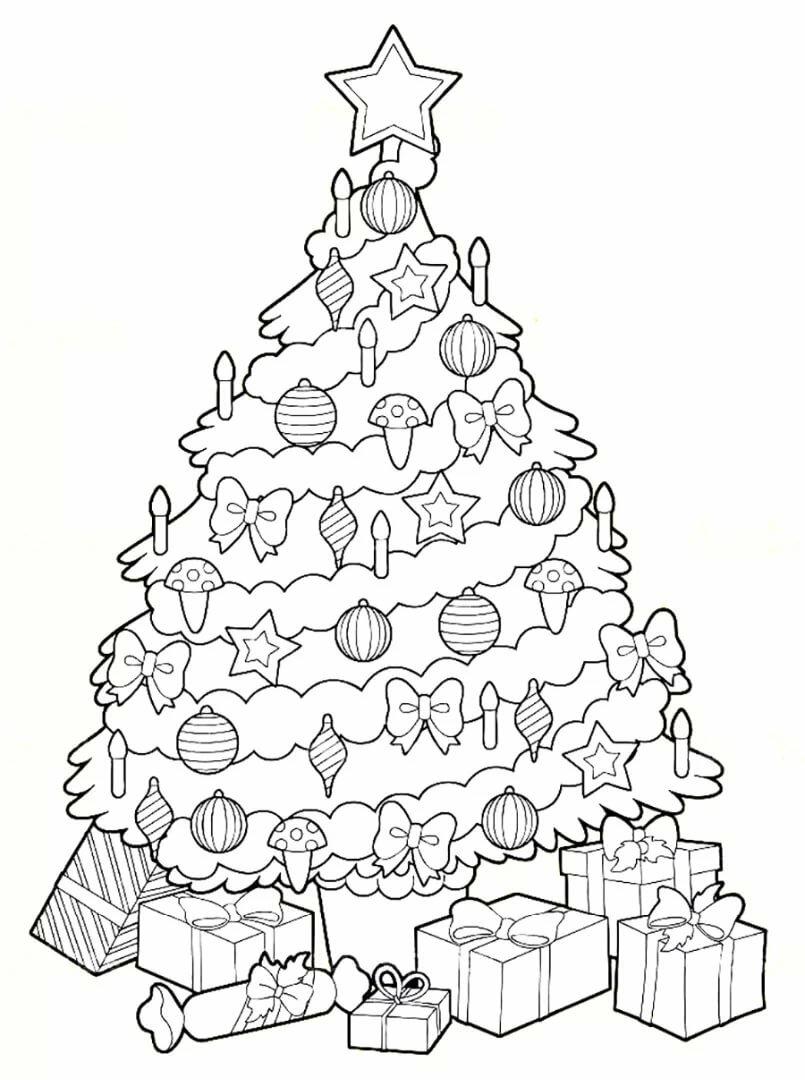 имеет картинки елок на новый год карандашом это привет