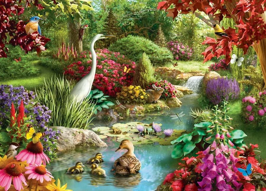 Цветы, сад картинки анимашки картинки